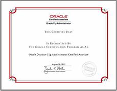 (OCA)数据库认证专员